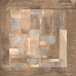 Плитка Эдда на коричневом серая ПГ3ЭД407