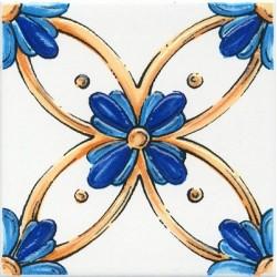 Декор Капри майолика STG A455 5232