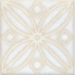 Вставка Амальфи орнамент белый STG B402 1266