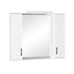 Зеркало Ассоль 100 с подсветкой и двумя пеналами