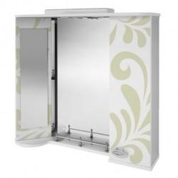 Зеркало навесное Арз 4-80 (оливка)(серый)
