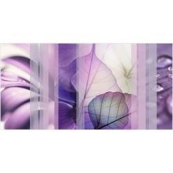 Вставка Коллаж на белом фиолетовая ВС9КЛ003