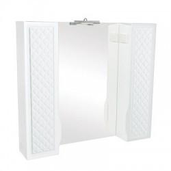 Шкаф настенный с зеркалом Родорс 100 с подсветкой