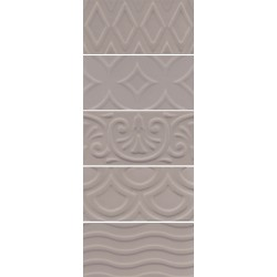 Авеллино коричневый структурный 7,4х15