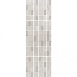Декор Низида мозаичный серый светлый