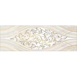 Вставка Сезаль 200х600 на белом коричневая ВС11СЛ024