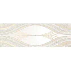 Вставка Сезаль 200х600 на белом коричневая ВС11СЛ034