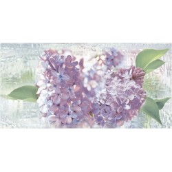 Декор Сирио на зеленом фиолетовый ВС9СИ103