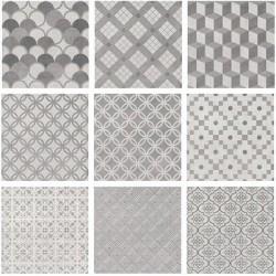 Карнаби-стрит орнамент серый